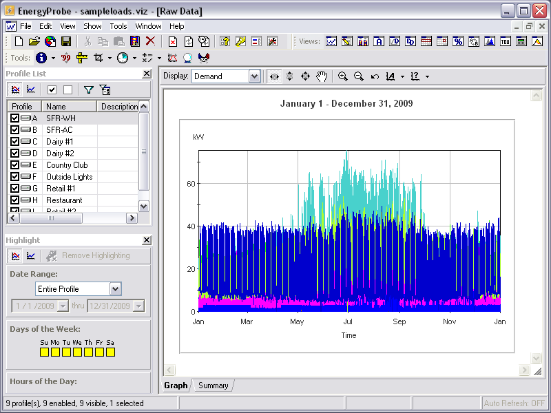 Click to View Full ScreenshotEnergyProbe 5.4.5 screenshot